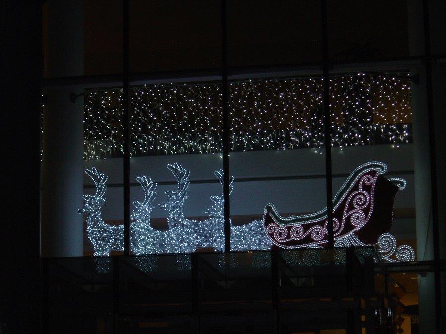 Santa Sleigh Lights