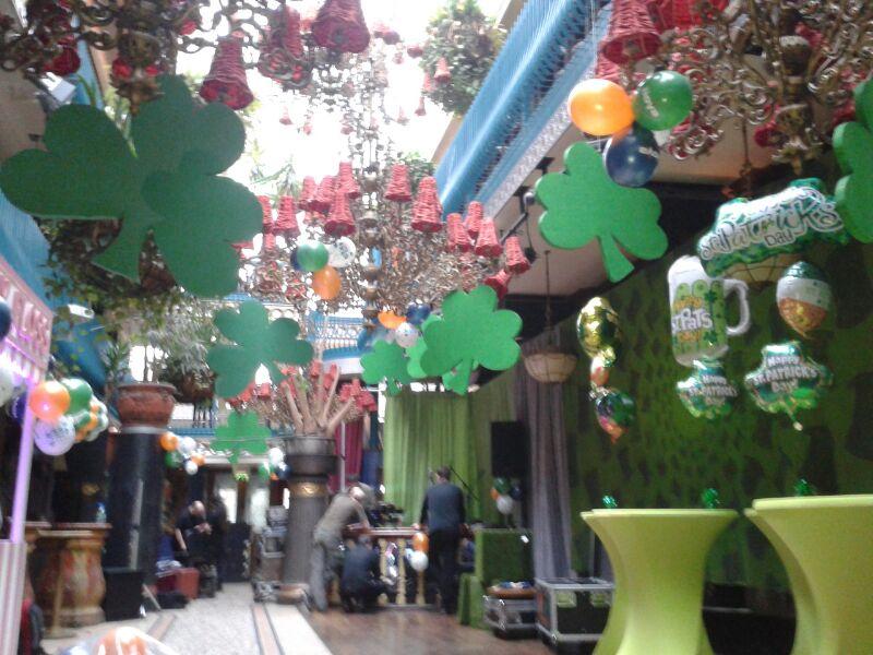 St Patricks Day Display