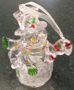 12cm Snowman Bauble