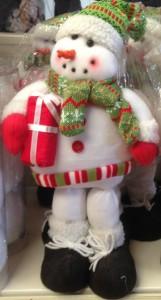 40cm Snowman Figurine