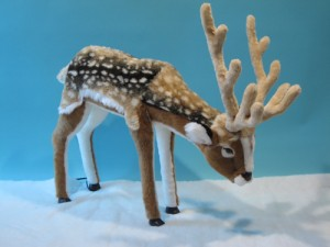 Animated Reindeer Figures from Dublin Display Co