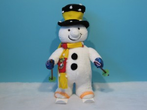 Animated Snowman figures from Dublin Display Co