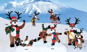 Animated Reindeer - Dublin Display Co