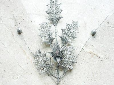 Silver holly sparkle
